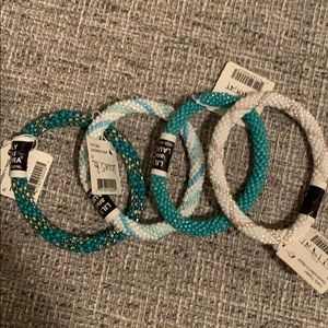 LILY and LAURA set of 4 bracelets NEW